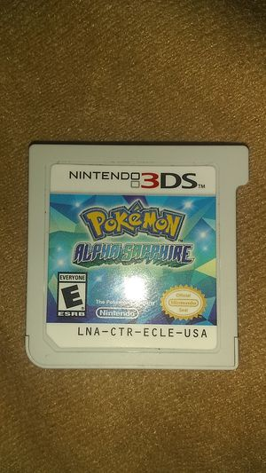Pokemon Alpha Sapphire Nintendo 3ds game for Sale in Lake Worth, FL