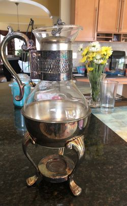 Silver coffee carafe. Pick up only 08054 for Sale in Mount Laurel,  NJ