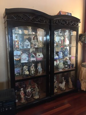China cabinets with all antiques inside for Sale in San Diego, CA