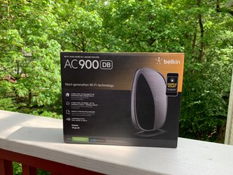 belkin AC900 DB Wifi Dual-Band AC+ Gigabit Router for Sale in Portland,  OR