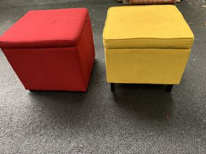 PAIR OF OTTOMANS for Sale in Snellville, GA