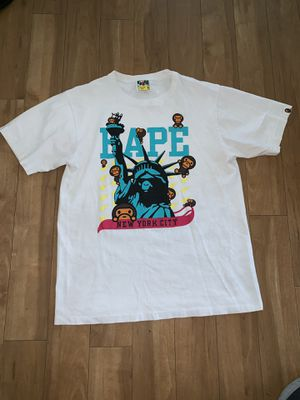 Bape Men's M white T-shirt for Sale in Portland, OR