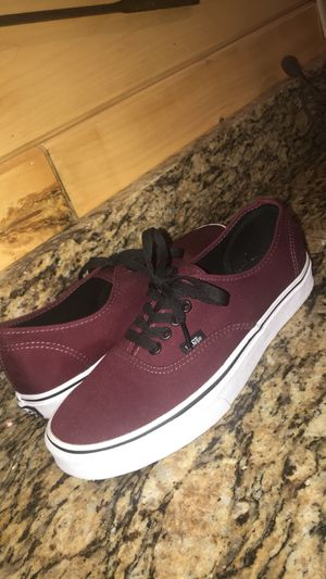 Unisex Maroon Vans for Sale in Centre Hall, PA