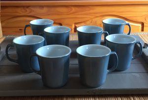 Vintage Pyrex Blue/Milk glass Mugs 8! for Sale in NEW KENSINGTN, PA