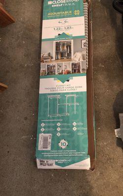Closetmaid Shelftrack Adjustable Shelving System for Sale in Everett,  WA