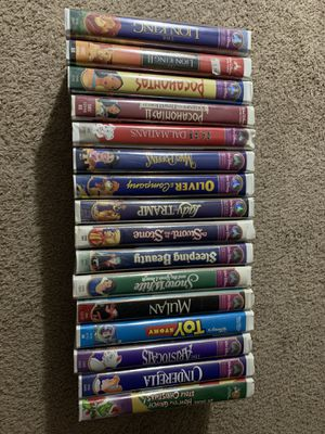 Walt Disney Masterpiece Collection VHS Tapes for Sale in Fort Collins, CO