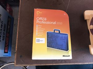 Microsoft Office Professional 2010 with Key for Sale in Las Vegas, NV