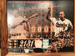 Cal Ripken breaking the record for Sale in Frederick, MD