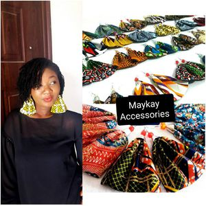 Quality handmade African print earrings - Buy 10 pairs for $60 for Sale in Baltimore, MD