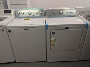 Maytag Washer and Dryer Gas. Available 🏦 for Sale in San Bernardino, CA