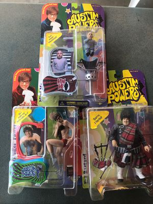 McFarlane toys Austin Powers collection for Sale in RIVERSIDE, CA