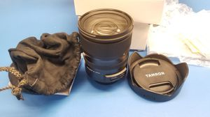 Tamron SP 24-70mm F/2.8 Di VC USD G2 for Canon DSLR Cameras for Sale in Santa Ana, CA
