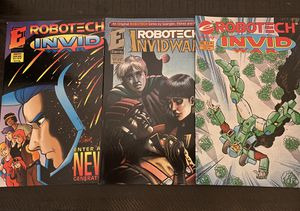 Robotech comic books set of 5 for Sale in Corona, CA