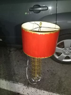 Modern red lamp for Sale in Columbus, OH