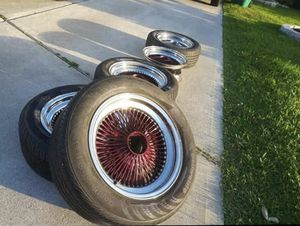 Lowrider wheels for Sale in Houston, TX