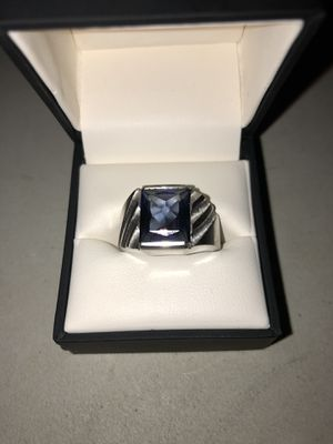 Sapphire white gold ring for Sale in Vancouver, WA