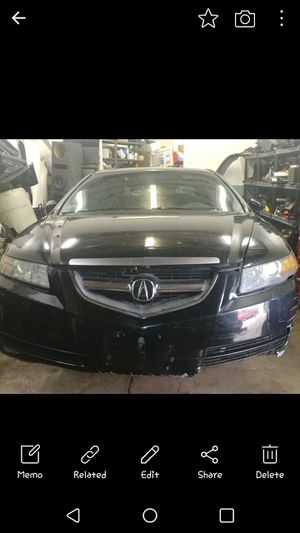 Acura Parts only 2005 TL... I HAVE PARTS FROM ALL YEARS AVAILABLE for Sale in Cranston, RI