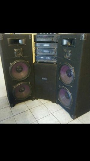 Pro studio dj audio for Sale in Phoenix, AZ