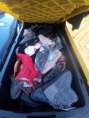 Big box of shoes for Sale in Inglewood, CA