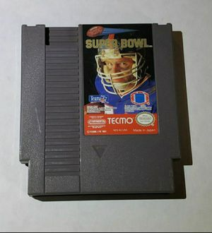 Nintendo NES super bowl game for Sale in Portland, OR
