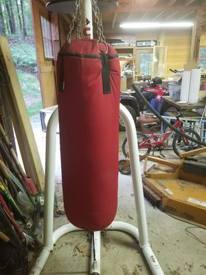 Punch Bag with Stand for Sale in Frederick, MD