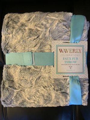 Faux Fur Blanket—send best offer for Sale in Chicago, IL