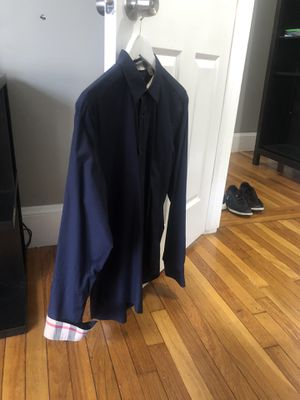 Burberry Brit men shirt Size M for Sale in Everett, MA