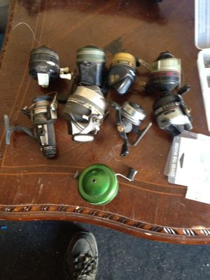 Vintage fishing reels for Sale in Mather, CA