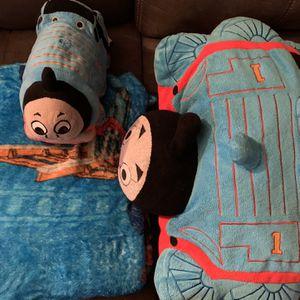 Thomas Soft Blanket & Stuffed Pillow for Sale in Sun City, AZ