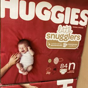 Huggies Little Snugglers 84 pack for Sale in The Bronx, NY