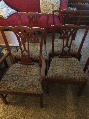 Antique Dining Chairs - 4 for Sale in Nashville, TN
