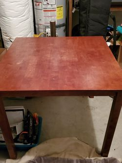 Tall Kitchen Table And 4 Chairs for Sale in Troutdale,  OR