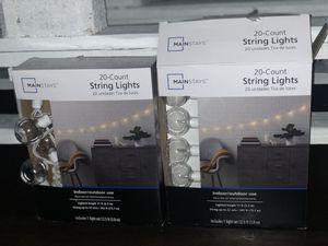 20-Count String Lights for Indoor and Outdoor Use for Sale in Santa Ana, CA