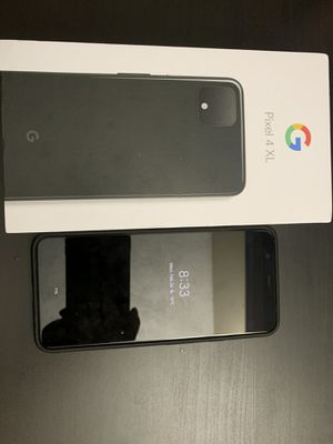 Google pixel 4xl black 64G with case for Sale in Mountain View, CA