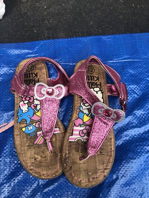 Hello kitty sandals size 12 for Sale in Fairfax Station, VA