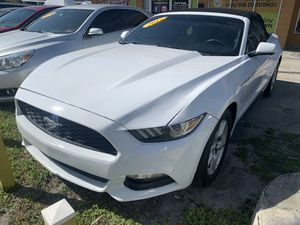 2016 CONVERTIBLE FORD MUSTANG - V6 - $2500 down for Sale in West Park, FL