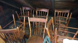 Antique chairs , quality craftsmanship.Wow only $7.00 a piece . There are 10 available for Sale in La Grange, IL