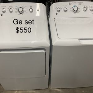 Ge Washer Dryer for Sale in Florida City, FL