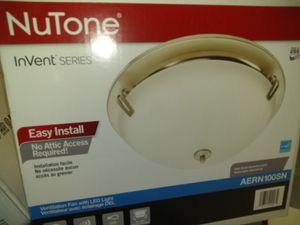 Nutone ventilation fan with light for Sale in Jurupa Valley, CA