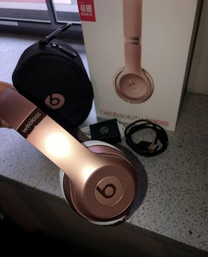 Wireless Rose Gold Beats Solo 3 for Sale in San Jose, CA