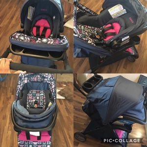 Baby stroller set and car seat for Sale in Syracuse, NY