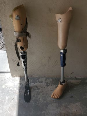 Two prosthetic legs for Sale in Holiday, FL