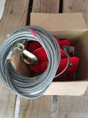 Manual winch for Sale in Cadillac, MI