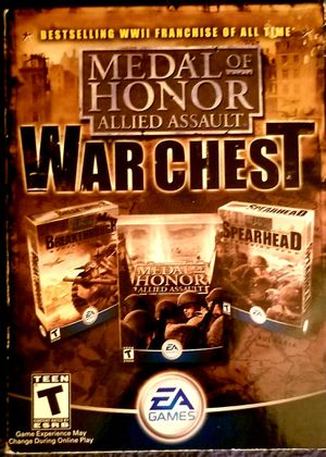 Medal of Honor Allied Assault War Chest for Sale in Lacey, WA