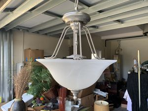 Brushed nickel light fixture for Sale in New Port Richey, FL