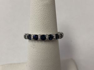 Vera Wang Sapphire and diamond ring size 4.75 for Sale in Scottsdale, AZ