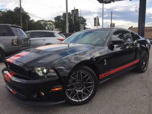 FORD SHELBY GT500 2011 SUPERCHARGER $6998 DOWN*$587 MONTH W/INS INCLD - $26998 (7414 N FLORIDA AVE PLEASE ask for Toris luxury auto mall for Sale in FL, US