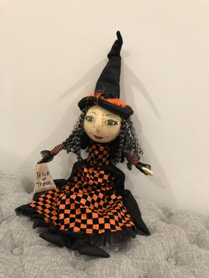 Halloween 🎃Trick or treat Witch for Sale in West Palm Beach, FL