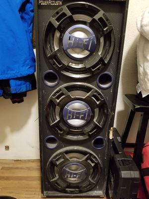 Power acoustic DJ equipment for Sale in San Francisco, CA