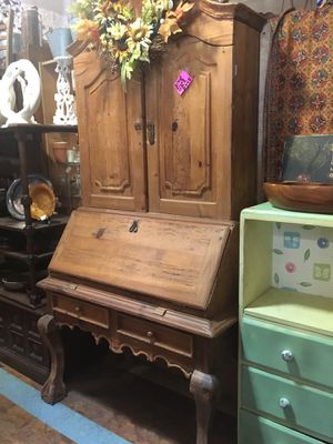 Antique vintage Secretary drop desk $295 for Sale in San Diego, CA